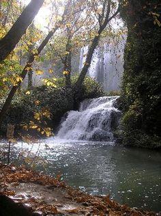 Parque Monasterio Piedra (Zaragoza). Cascada Carpichosa,