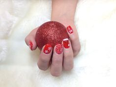 Weihnachtsnägel Nails, Beauty, Finger Nails, Beleza, Ongles, Nail, Cosmetology, Manicures