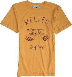 WELLEN SURF CAMP SS TEE  Mens  Clothing  Tees Short Sleeve | Swell.com