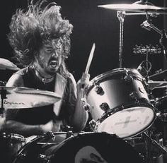 Dave Grohl always looks like he's having fun | Foo Fighters
