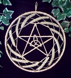 Pagan / Wiccan Handfasting Pentacle & Triquetra / Triple Goddess Sun Wheel. Home…