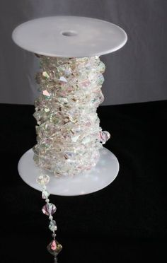 60 ft Spool of Iridescent Crystal Diamond Beads by Unknown, http://www.amazon.com/dp/B004HLV56Q/ref=cm_sw_r_pi_dp_GQFPrb08TBPJA