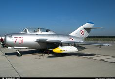 Polish Air Force WSK-Mielec SB Lim-2 761 712761 Poznan-Krzesiny - EPKS