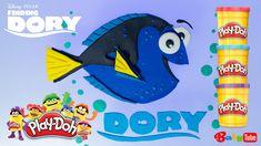 В поисках Дори. Лепим Дори из пластилина Плей До  (Play Doh).
