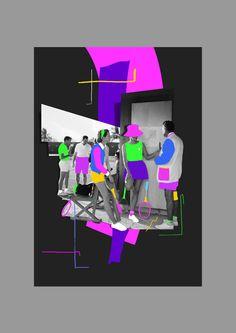 As extravagantes colagens de Selman Hosgör – Design Culture