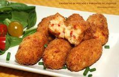 Las croquetas de pescado y pimientos del piquillo, con una combinación perfecta de ingredientes que se te hará la boca agua.