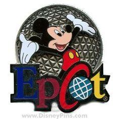 "Mickey ""Epcot"" pin, $13.95"