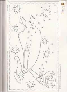 A Christmas Story - Sabrina Cárcamo - Picasa Web Albums Applique Patterns, Embroidery Applique, Embroidery Stitches, Cross Stitch Patterns, Quilt Patterns, Machine Embroidery, Noel Christmas, A Christmas Story, Xmas