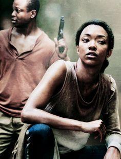 Sasha & Bob Stookey - The Walking Dead