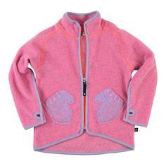 Ushi Fleece Jacket/Sugar Pink