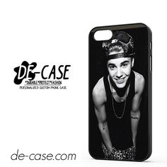 Justin Bieber Smile DEAL-6055 Apple Phonecase Cover For Iphone 5 / Iphone 5S