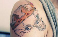 50 Tatuagens de caveiras
