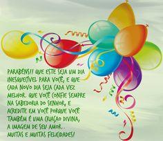 Parabens!! Que este seja um dia inesquecível para você #felicidades #feliz_aniversario #parabéns