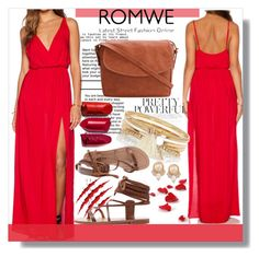 """""""Romwe"""" by mila96h ❤ liked on Polyvore featuring River Island, Carolee, Rika and romwe"""
