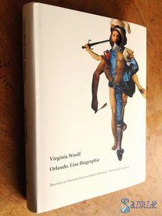 """#Orlando: She's a man! """"Orlando"""" von Virginia Woolf, illustrierte Edition der Büchergilde #Gutenberg."""
