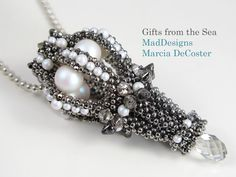 Marcia DeCoster Gifts from the sea pendent