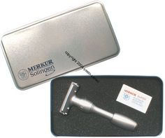 Best Quality Merkur VISION Adjustable Double Edge Safety Razor- With Metal Box-#2000- Free Coupon Codes, Safety Razor, Metal Box, Printable Coupons, Shaving, How To Remove, Coding, Personal Care, Blade