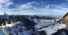 Rauschberg; Blick auf Ruhpolding und Chiemsee; Panorama