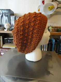 Puff Stitch Crochet Hat