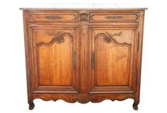 Antique French Fruitwood Sideboard