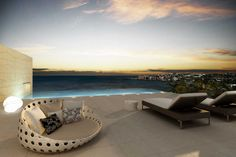 Saint Martin (Island) ~ Roof top terrace and pool ~ What a life !
