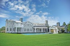 """Pool And Tennis"" Water Mill - Hamptons Real Estate"