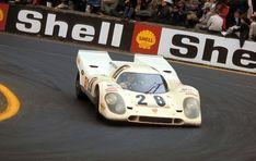 Vic Elford and Kurt Ahrens, Jr. on Porsche 917K #023 entered by Porsche Salzburg, Spa 1970.