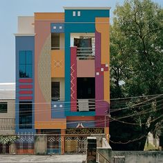 Indian Houses Inspired by Ettore Sottsass...