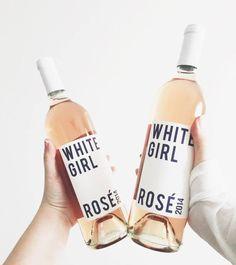 White Girls drink Rosé Wine