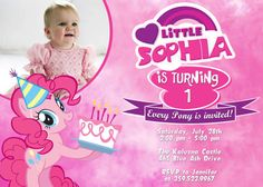 My Little Pony Birthday Party Invitation  by FunPartyPrintable, $8.99