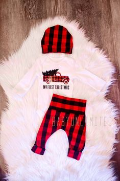 9ad9a58dfc88e Baby boy clothes, newborn christmas outfit, newborn boy outfit, newborn set,  baby boys, truck outfit, western outfit,