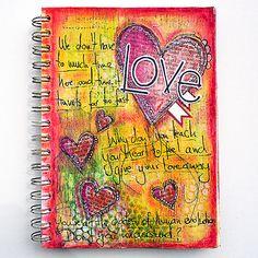 page of Art Journaling