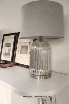 Creating A Cozy Home @So Much Better With Age   Vintage French #Kirklands #bloglovin #MercuryGlass #Lamps