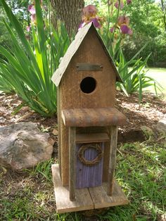 pinterest birdhouses | birdhouses / The Curvy Bird