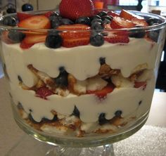 RECIPE: 4th of July Trifle - What The Flicka?