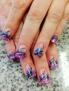 Stunning acrylic nails - Home Page Chic Nails, Sexy Nails, Fancy Nails, Best Nail Art Designs, Toe Nail Designs, Acrylic Nail Designs, Great Nails, Fabulous Nails, Gorgeous Nails