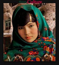 Girl from Hazara, Afghanistan