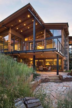 Chalet Design, Home Design, House Design Photos, Patio Design, Modern House Design, Design Ideas, Urban Design, Design Design, Design Inspiration