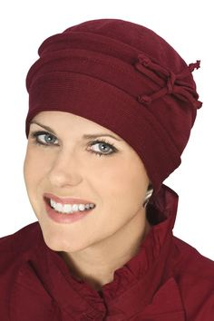 100% Cotton Leesa Beanie Hat. TurbantesSombreros Para Los Pacientes Con  CáncerSombreros ... 54e3235016c