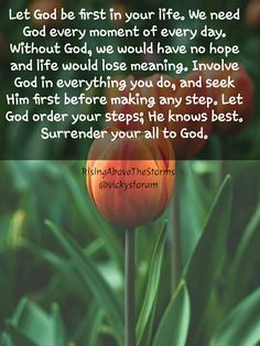 Wisdom Quotes, Bible Quotes, Surrender To God, Walk In Love, The Good Shepherd, Everlasting Love, Seeking God, Let God