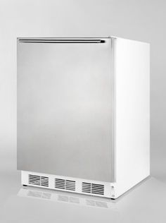Summit AccuCold ALB751SSHH 24 Wide 55 Cu Ft BuiltIn Undercounter All Refrigerator with Automatic Defrost Deep Shelf Space Hidden Evaporator and Adjustable Thermostat in Stainless ** See this great product.  This link participates in Amazon Service LLC Associates Program, a program designed to let participant earn advertising fees by advertising and linking to Amazon.com.