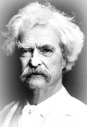 Mark Twain, el autor de Las aventuras de Tom Sawyer (1876)