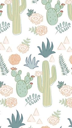 Watercolor cactus wallpaper fresh pin by helen m on wallpapers Tumblr Wallpaper, Iphone Background Wallpaper, Aesthetic Iphone Wallpaper, Screen Wallpaper, Cool Wallpaper, Pattern Wallpaper, Aesthetic Wallpapers, Kawaii Wallpaper, Deco Cactus