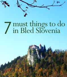 7 Must Things to Do in Bled Slovenia | http://www.thesunnysideofthis.com/7-things-to-do-in-bled-slovenia/