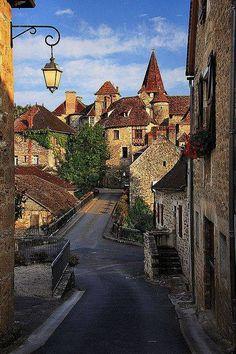 Carennac, Dordogna, Francia.