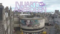 NUART ABERDEEN 2017 Brought to you by the team behind Stavanger's internationally renowned Nuart Festival, Nuart Aberdeen saw 11 international street artists. Stavanger, Aberdeen, Street Artists, Urban Art, World, Movies, Youtube, Projects, The World