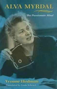 Alva Myrdal, the scholarly partner and wife of Swedish sociologist Gunnar…