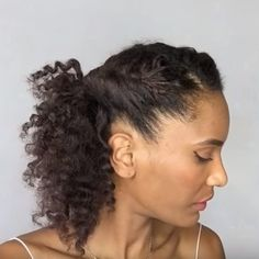 New Hair Cuts Natural Curly Beauty Ideas Natural Haircut Styles, Protective Hairstyles For Natural Hair, Braided Hairstyles, Curly Hair Styles, Natural Hairstyles, Hair Images, Hair Highlights, Short Hair Cuts, Hair Trends