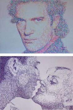 Tükenmez Kalemle Portre Yapılır Mı?