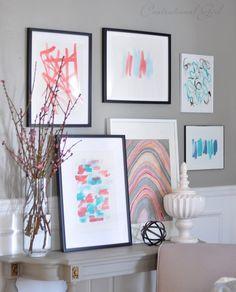 Centsational Girl » Blog Archive Spring in the Living Room - Centsational Girl